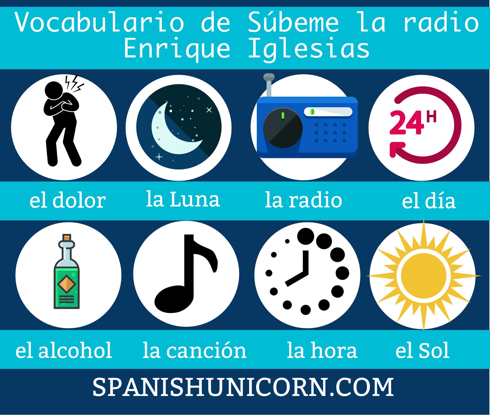 Subeme La Radio Ejercicios Interactivos Y Letra Para Aprender