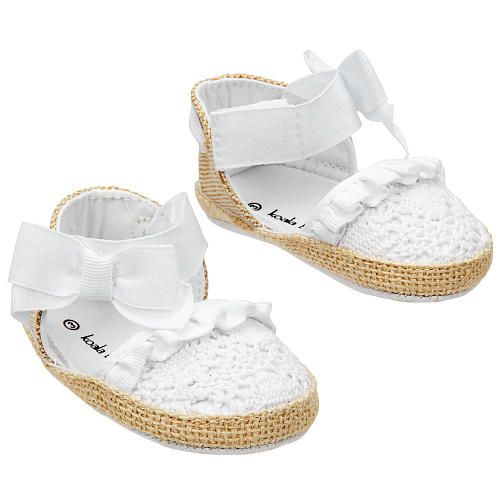 Crocheted Soft Sole Espadrilles