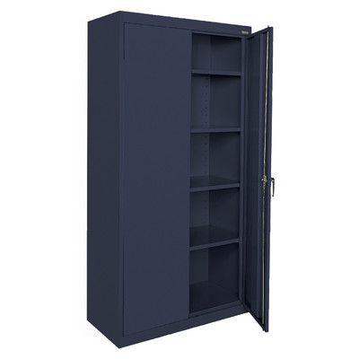 Sandusky Classic Series 2 Door Storage Cabinet Freestanding Storage Cabinet Storage Cabinet Shelves Sandusky Cabinets