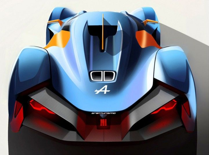 Alpine Vision Gran Turismo Concept Design Sketch By Tibor Juhasz Car Body Design Concept Car Design Lamborghini Concept Super Cars