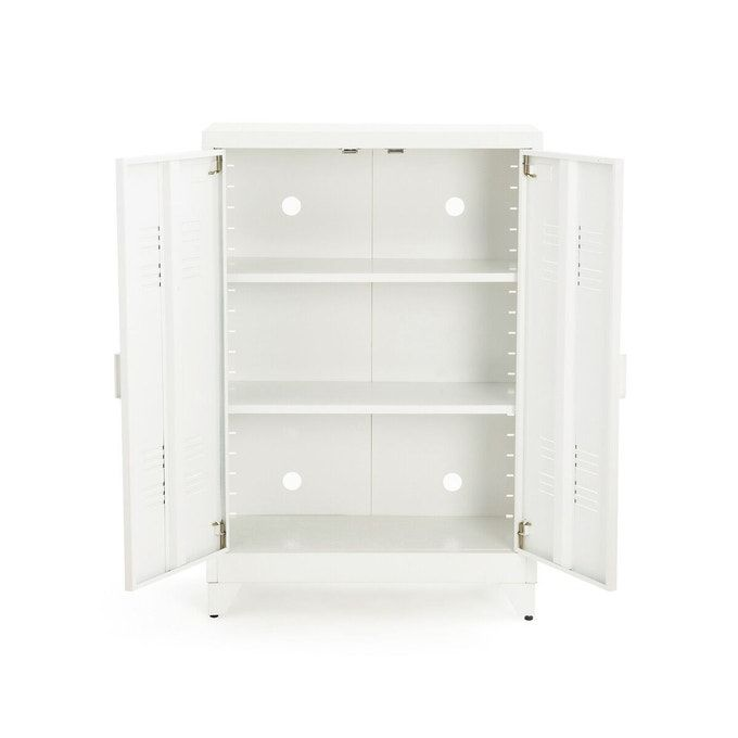 Low cabinet 2 metal doors, Hiba