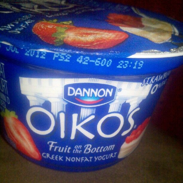 So addicted! #Oikos #GreekYogurt #yum :)