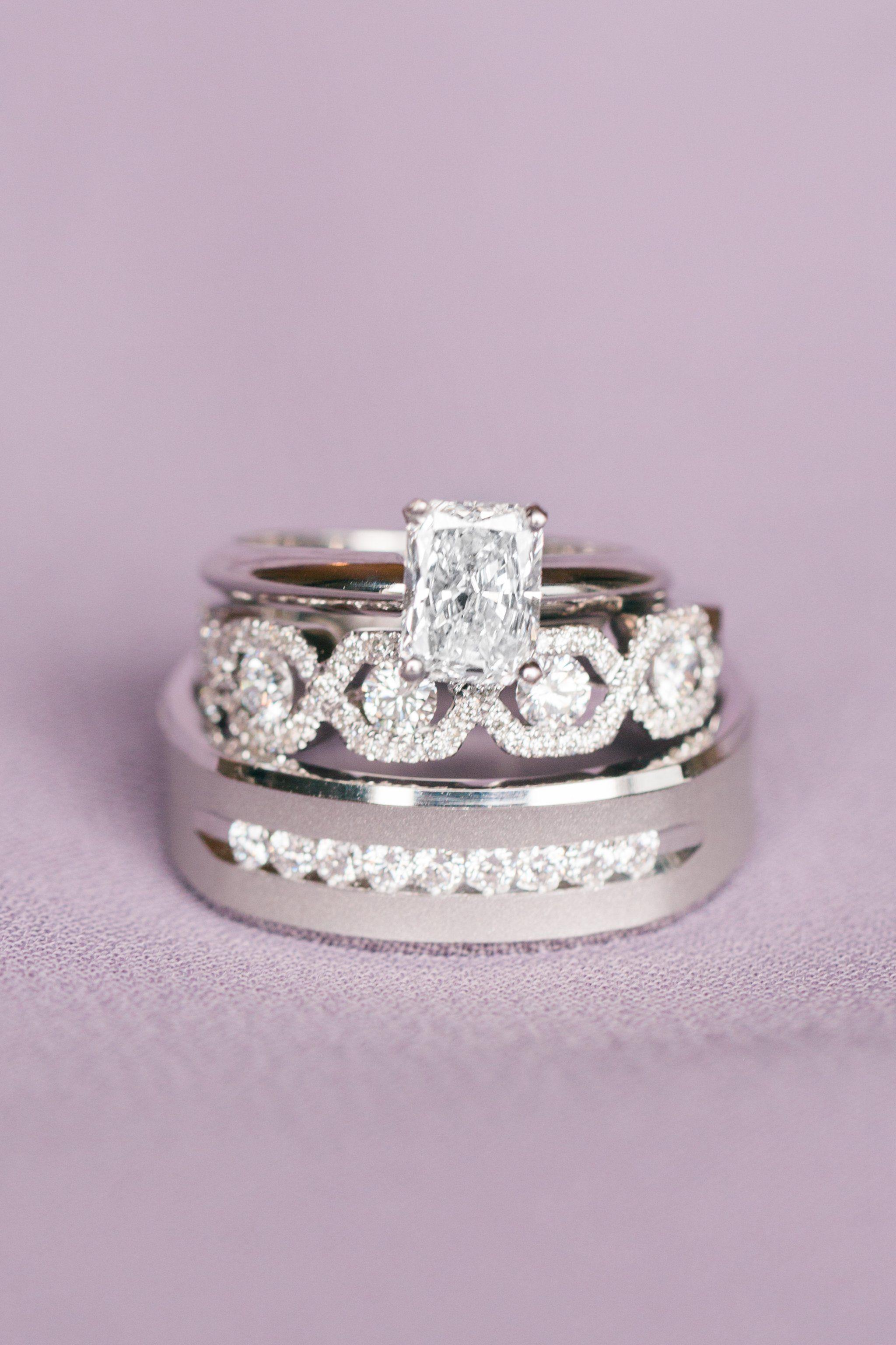 Austin Wedding Antebellum Oaks Emerald Cut Engagement Ring