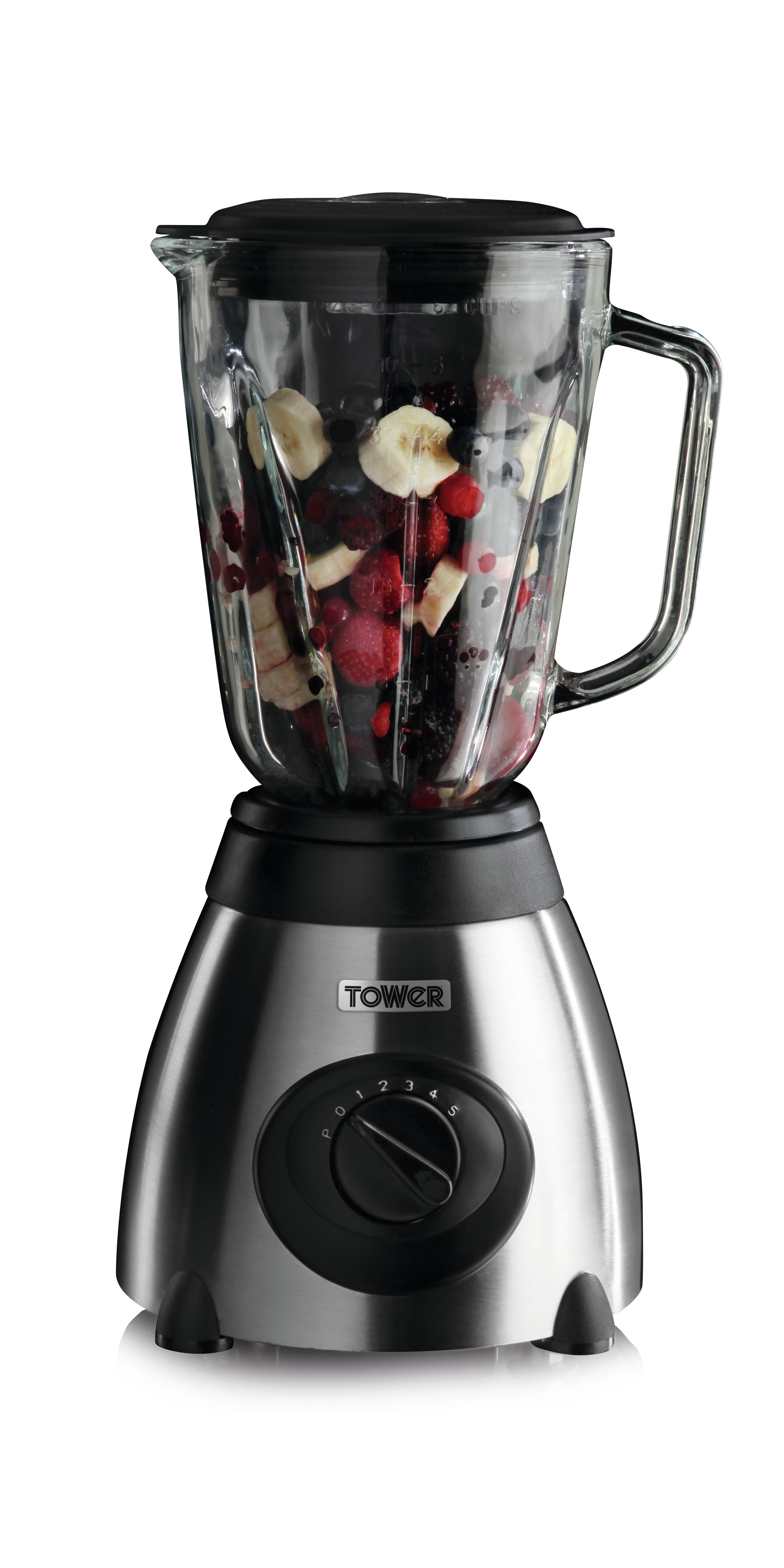 Stainless steel glass jar blender with grinder Blender