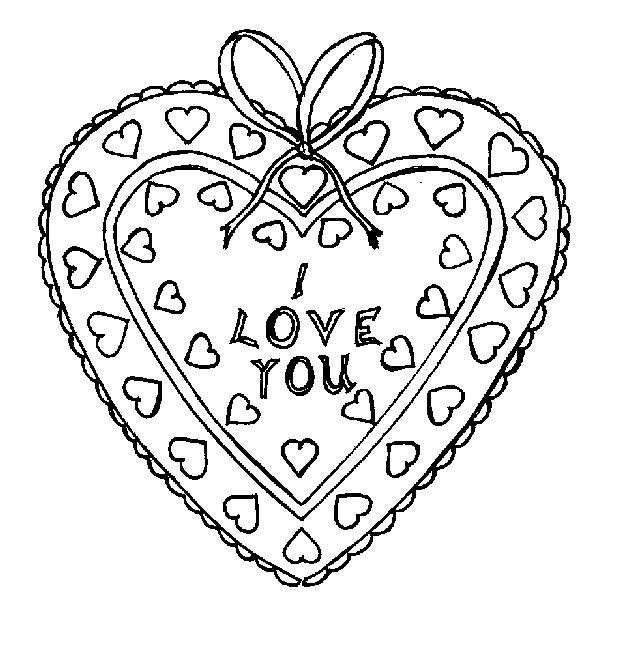 Dibujos de corazones para colorear | Free Coloring Pages for ...