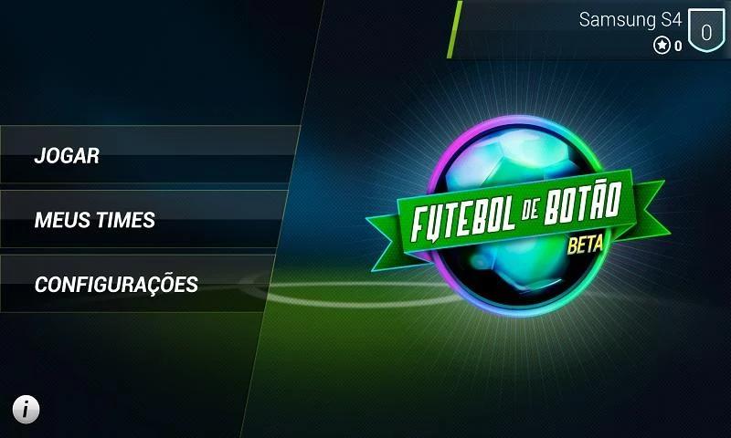 Futebol de Botão - Futebol de Botão is a simulation from traditional button football to be played in network.