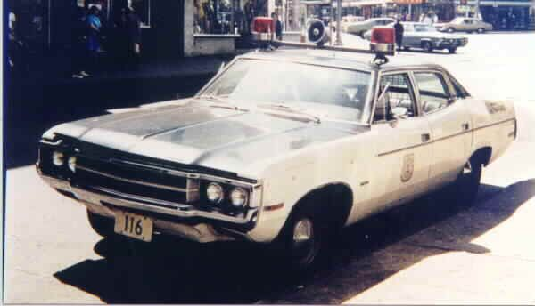 1971 Amc Javelin Police Car Google Search