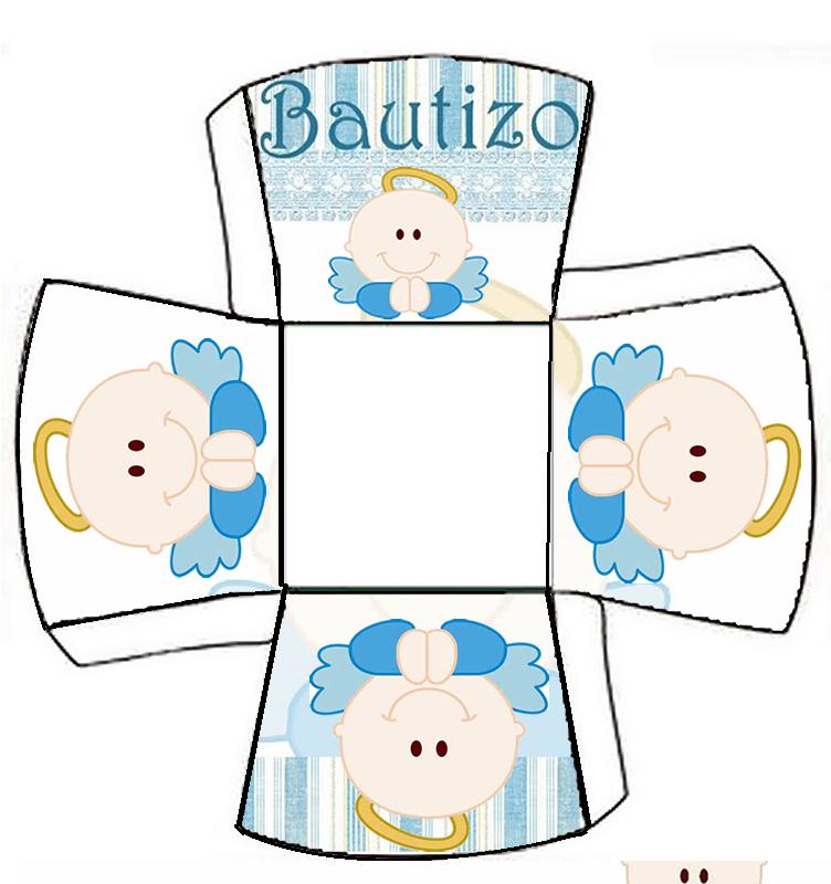 Cajitas Para Bautizo Nino.Kit Para Bautizo De Nino Con Angelito Cajitas Decoradas