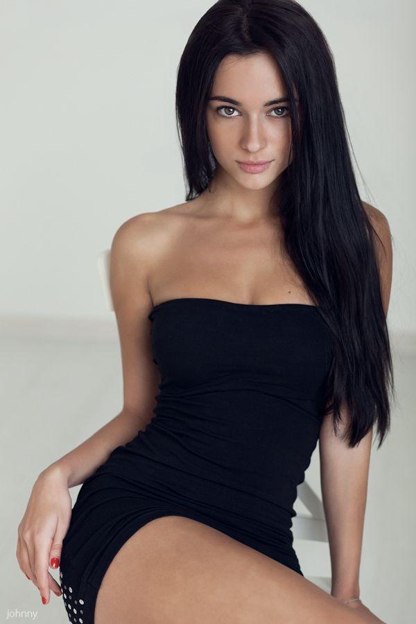 Pinterest beautiful girls in black dresses