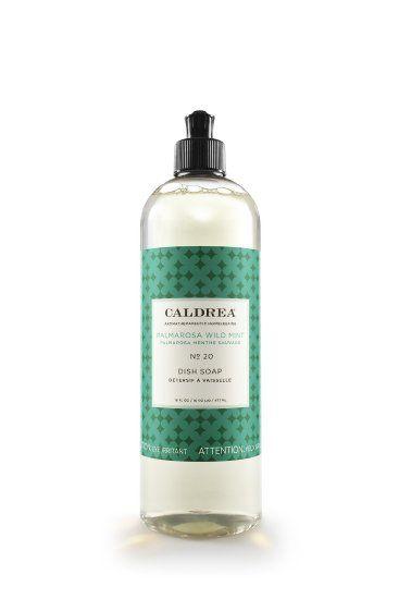Amazon Com Caldrea Palmarosa Dish Soap Liquid Wild Mint 16 Fluid Ounce Health Personal Care Soap Liquid