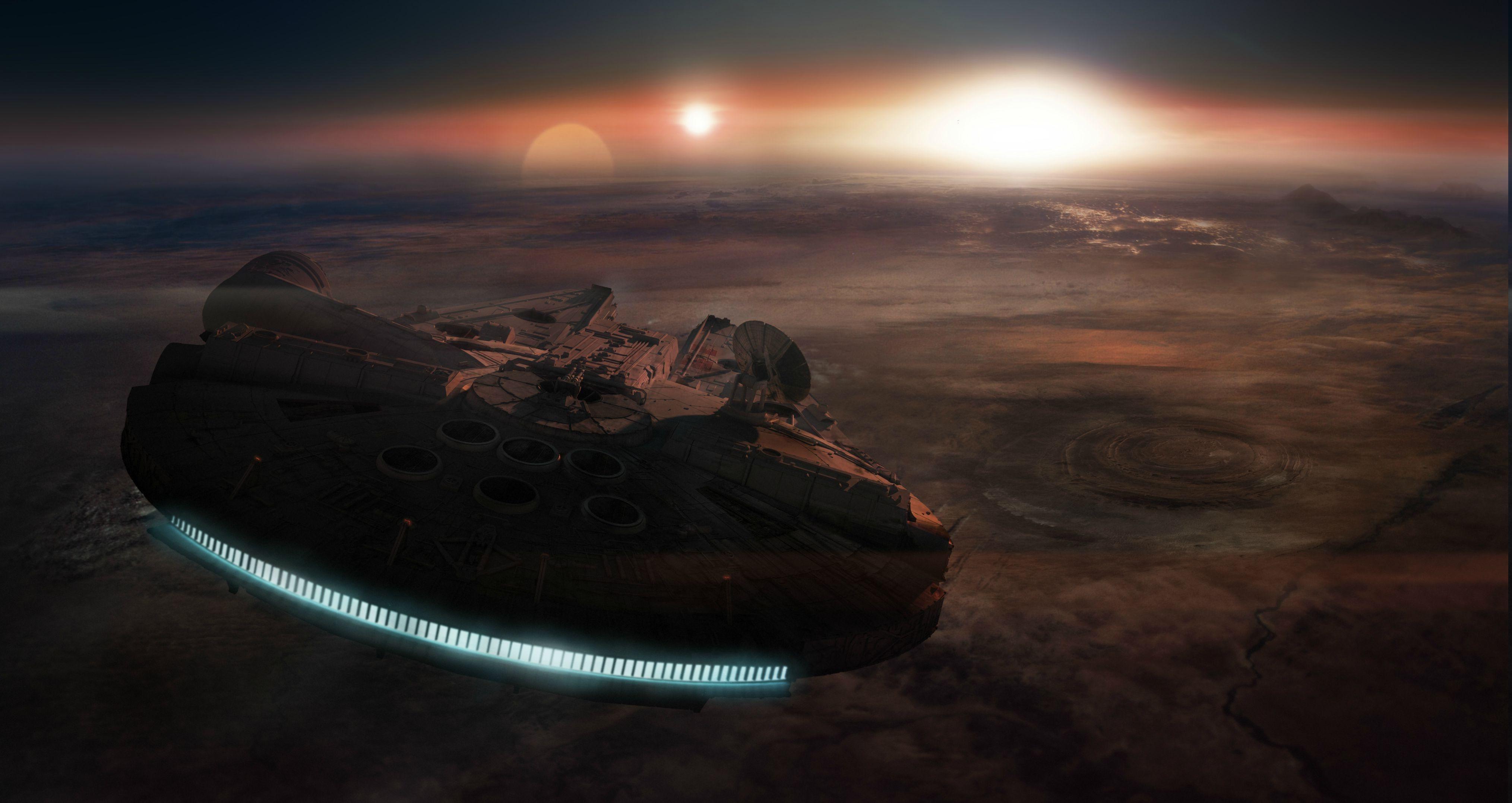 60 Star Wars Landscape Wallpapers Download At Wallpaperbro