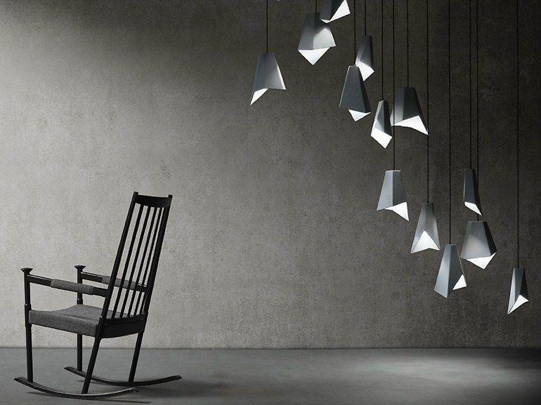 Ceramic Pendant Lamp Gami By Elite To Be Pendant Lamp Concrete Light Origami Furniture