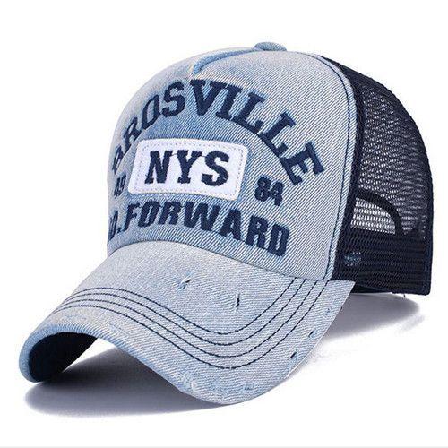 Fashion Net Yarn Baseball Cap Snapback Hat for Men Women Men s Visors Sun  Hat Bone Gorras 7c9587d2d491