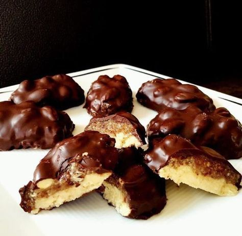 Low Carb Snickers - machen Dich gesund statt kugelrund