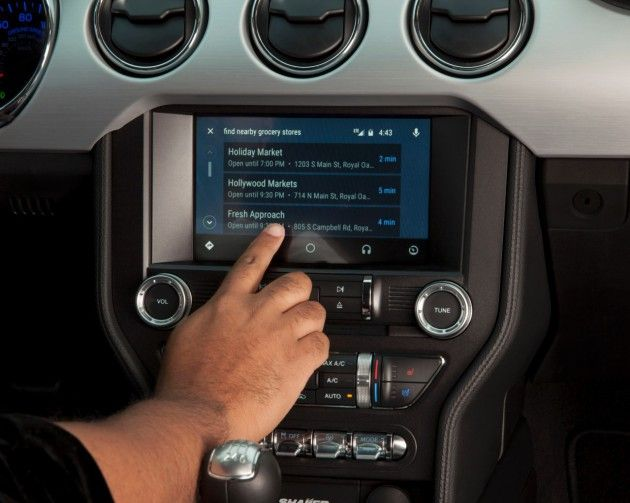 Ford Is Bringing Android Auto To Vehicles Equipped With Sync 3