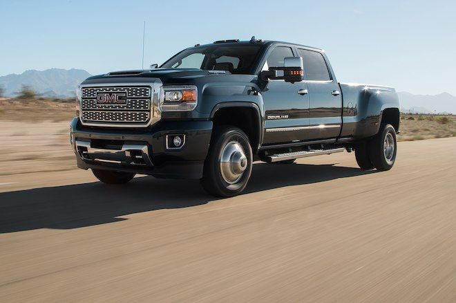Gmc Sierra 3500 Hd Denali 2018 Motor Trend Truck Of The Year