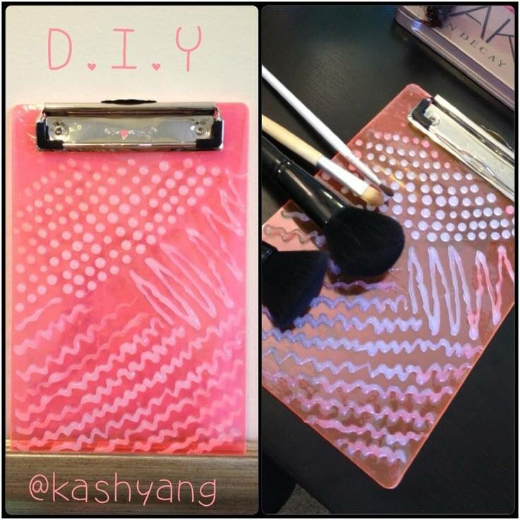 Makeup Brush Cleaner Diy Clipboard Mugeek Vidalondon