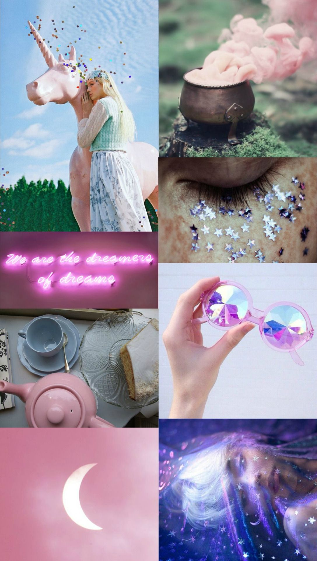 """Luna Lovegood aesthetic- the girls of hogwarts: """"The girl gave off an aura of distinct dottiness. Perhaps it was the fact that she had stuck her wand behind her left ear for safekeeping, or that she had chosen to wear a necklace of Butterbeer caps, or that she was reading a magazine upside down."""""""