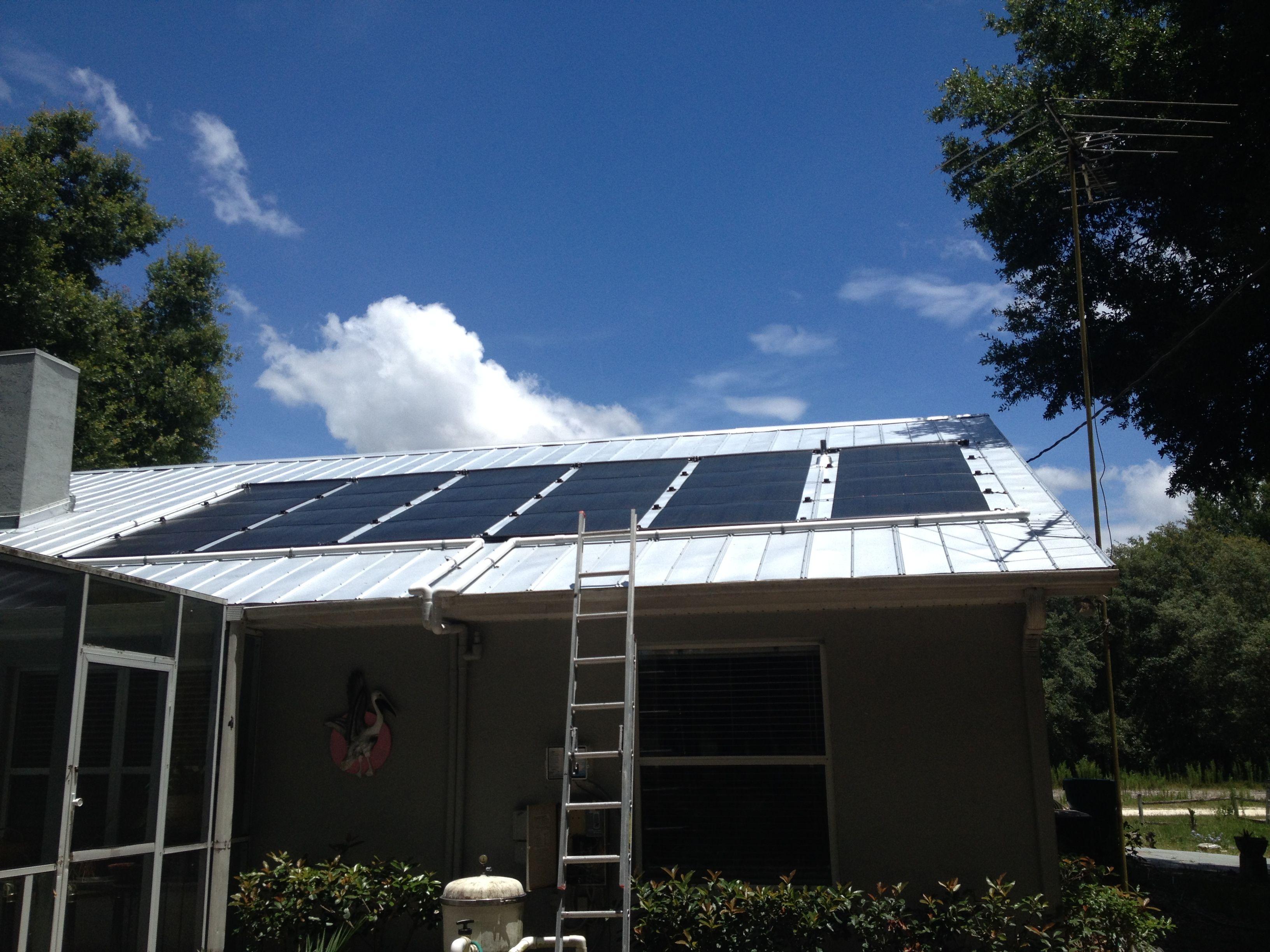 Vortex Solar Pool Heater Www Diysolarpoolheaterkits Com With Images Solar Pool Heating Solar Pool Heater Pool Heaters