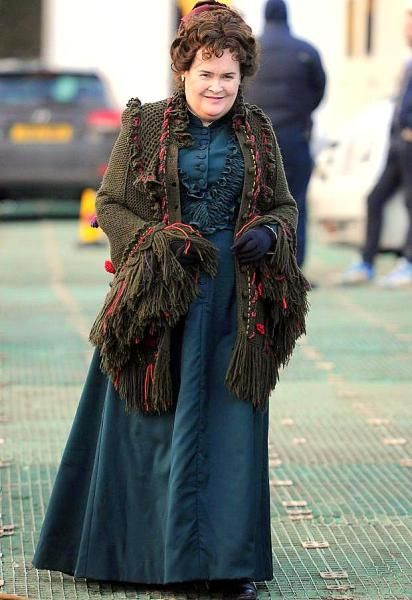 Susan Boyle's first movie role debut as Eleanor Hopewell ...
