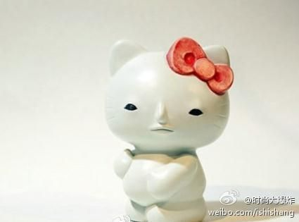 hello kitty after removing all makeup