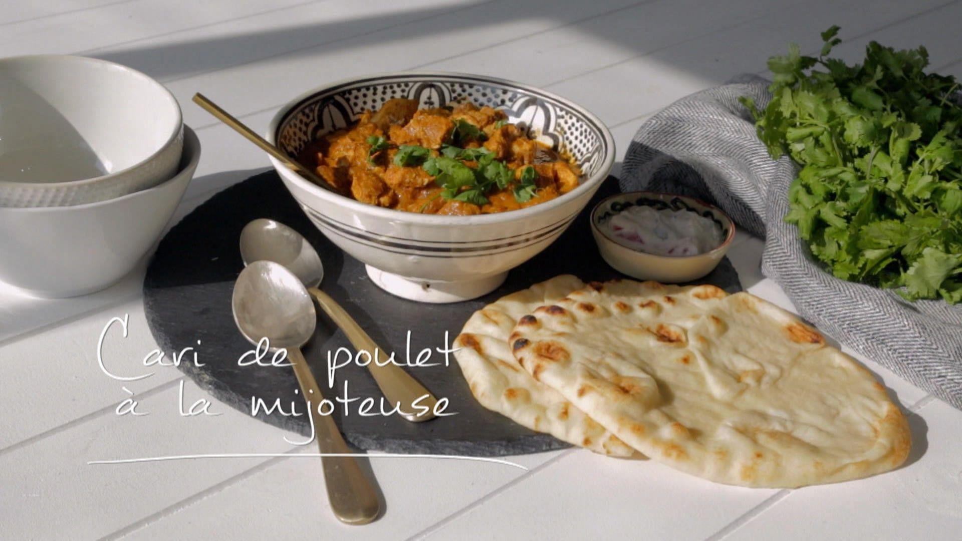 Cari De Poulet A La Mijoteuse Cuisine Futee Parents Presses A