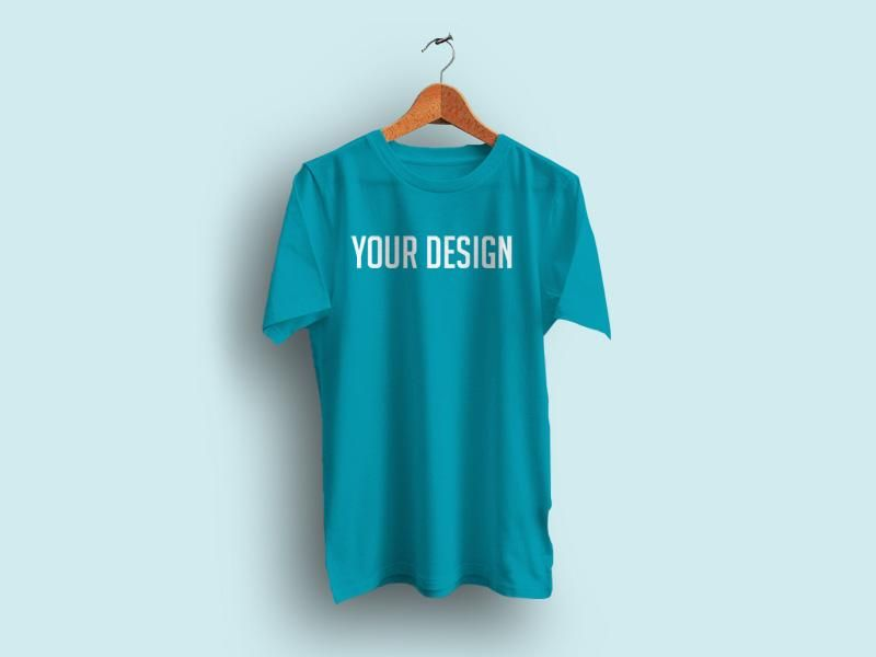 Download We Re Glad To Feature This Dazzling Psd Mockup Of Realistic Hanging T Shirt With Empty Background Download This Pho Shirt Mockup Clothing Mockup Tshirt Mockup