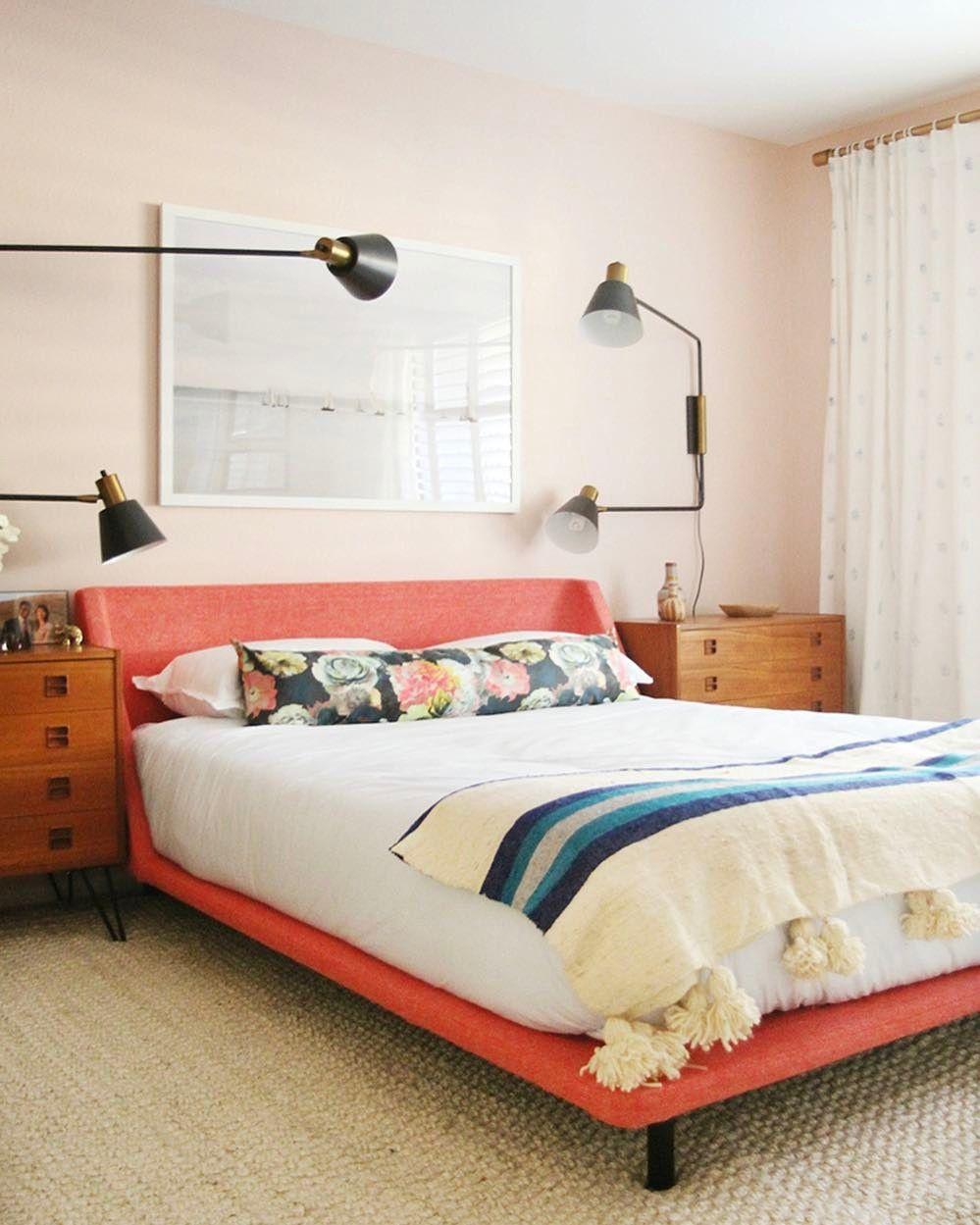 bludot bed | Bedroom redesign, Bedroom red, Bedroom decor