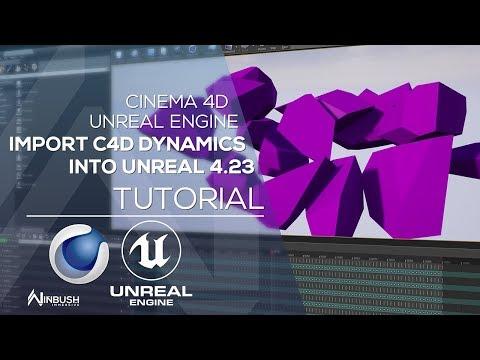 碎裂 (烘焙物件) Unreal engine, Motion graphics tutorial