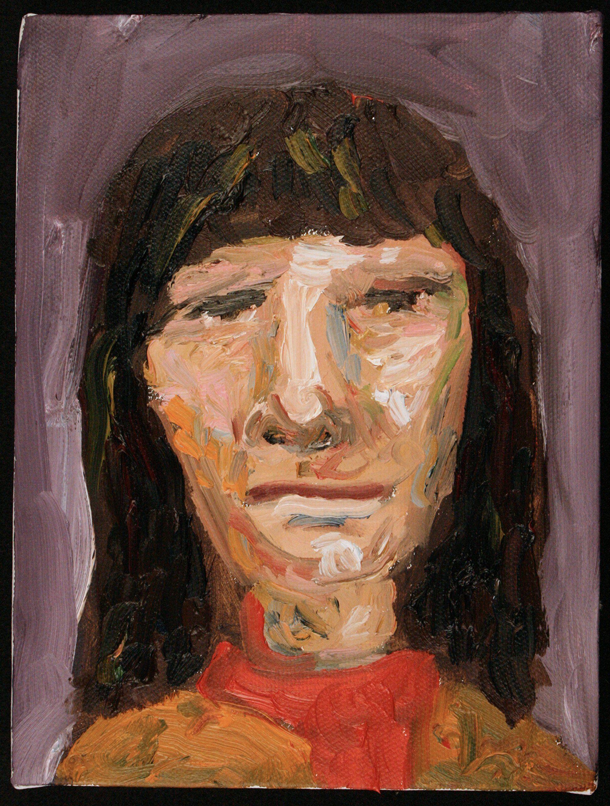 Kim Painting, Oil painting, Portrait