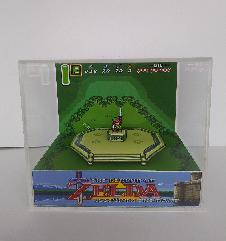 The Legend Of Zelda Link Master Sword 3d Retro Gaming Cube Etsy Zelda Gifts Master Sword Legend Of Zelda