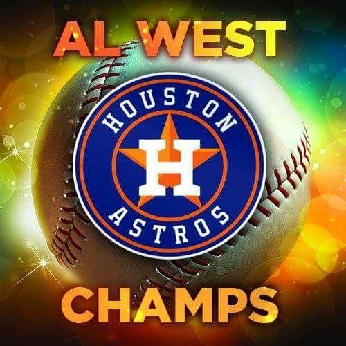 Houston Astros 2017 AL West Champs Mlb team logos