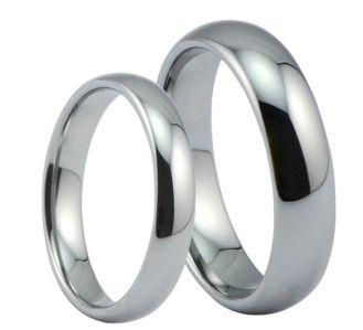 Argollas Lisas En Plata Y Oro Blanco 10k Y 14k Anillo De Matrimonio Argollas Oro Plata