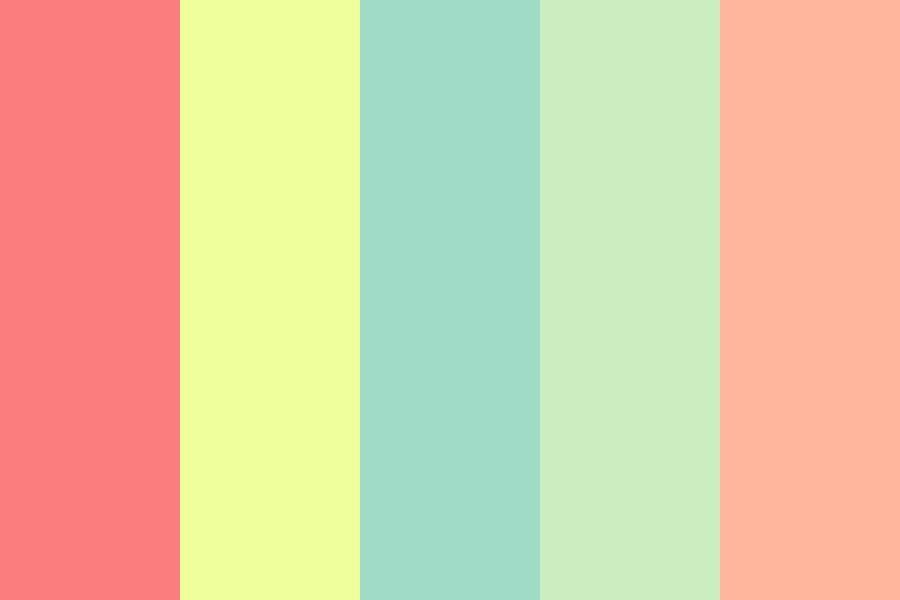 Retro Summer Time Color Palette In 2020 Vintage Colour Palette Retro Color Palette Summer Color Palettes