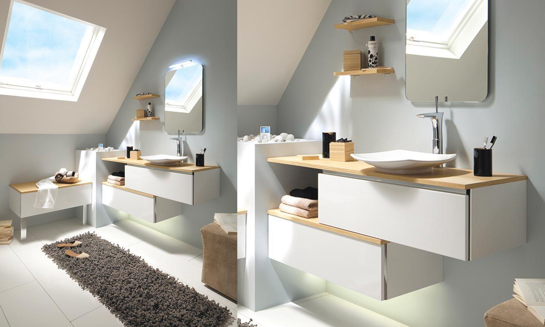 Meuble Salle De Bain Collection Duo Babylone DSB D Design - Magasin meuble salle de bain