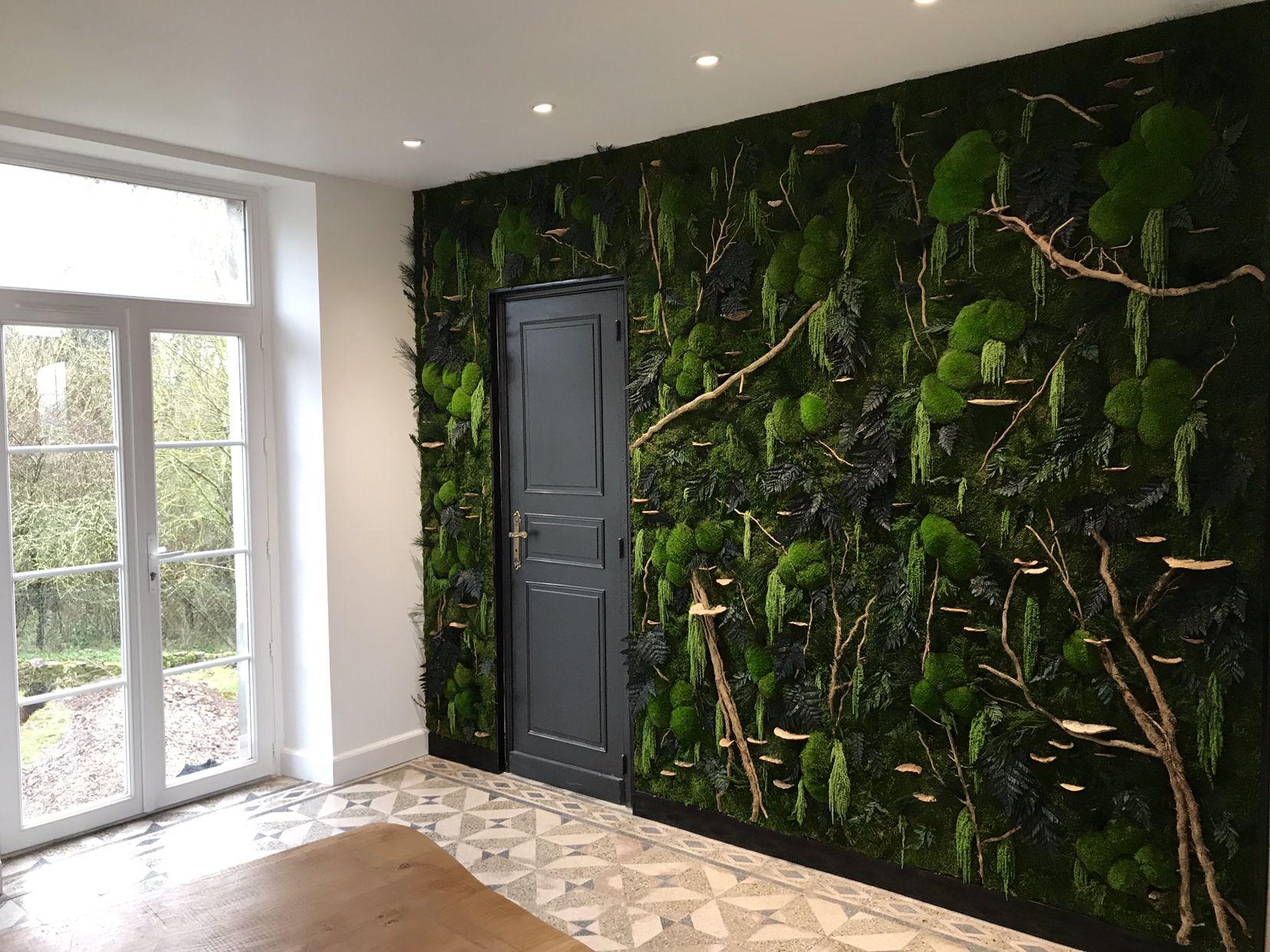 Plante Sur Les Murs l'ère végétale, indoor vegetal design. la décoration d