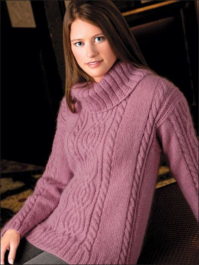 Knitting Patterns For Wearables Sweater Patterns Cabled Cowl