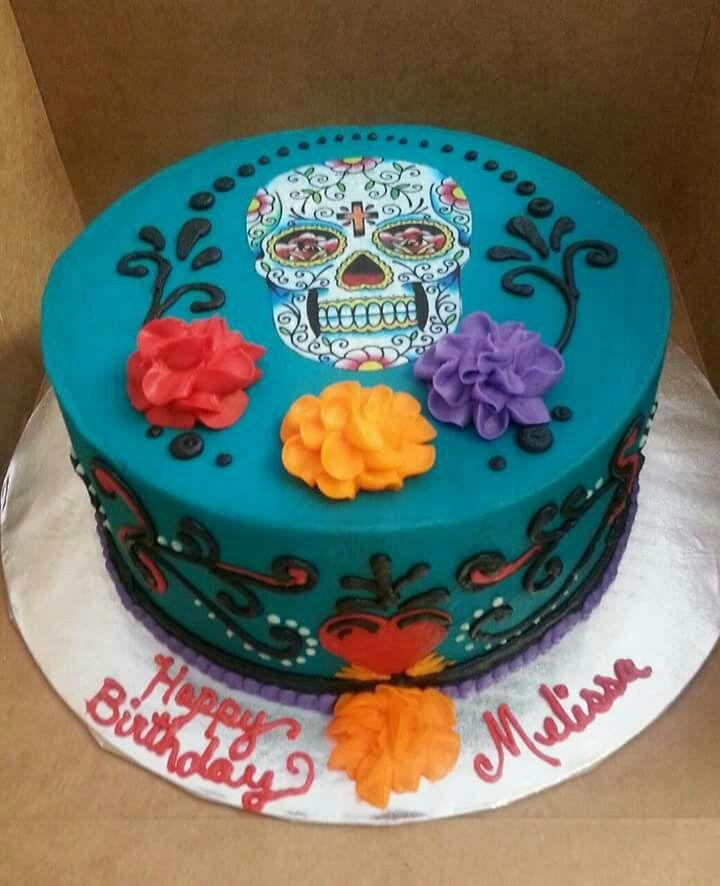 Hy Vee Birthday Cake Sugar Skulls