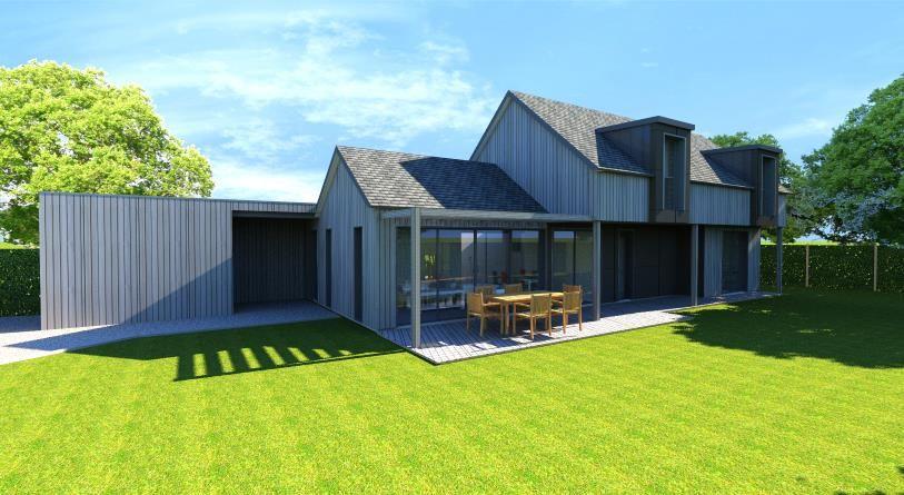 Belle maison ossature bois sur la presquîle de rhuys pour lété