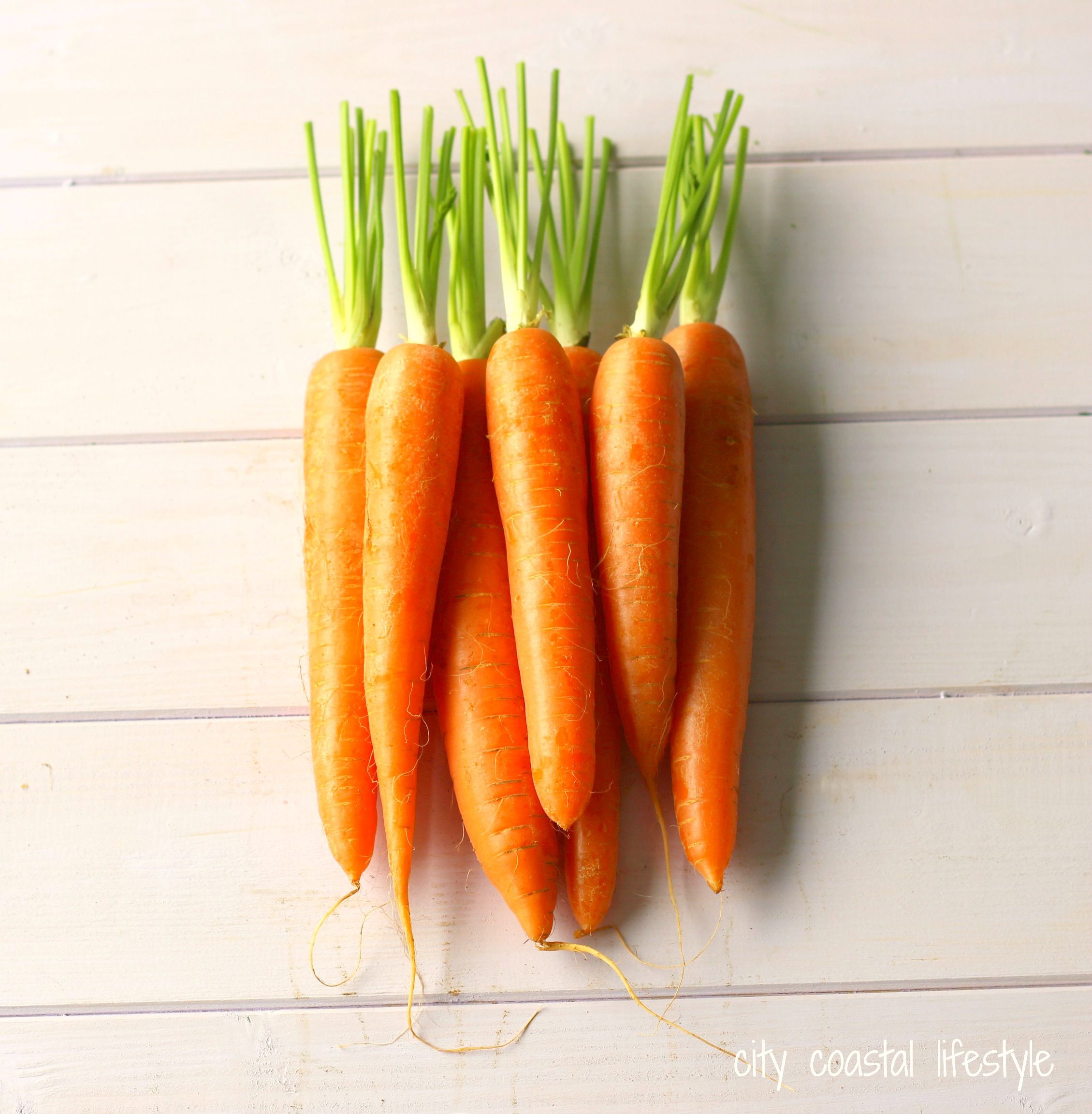 Carrots, plain and simple