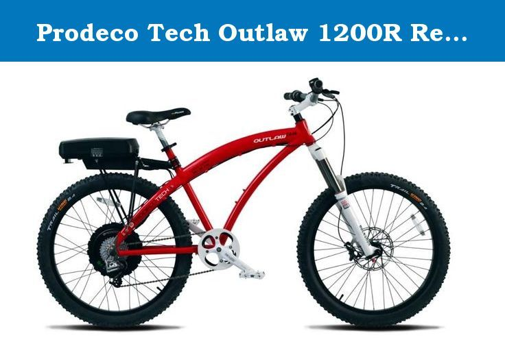 Prodeco Tech Outlaw 1200R Red 26