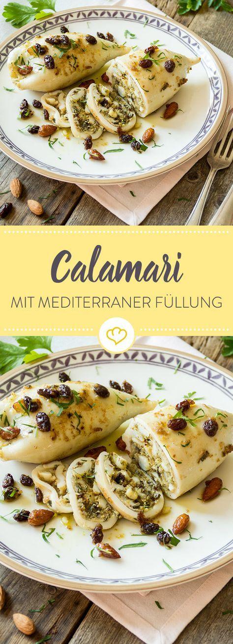 Photo of Calamari mit mediterraner Füllung