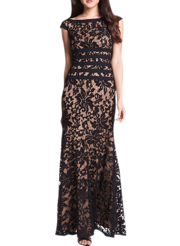Floral lace evening bridesmaid dress asvogue long prom