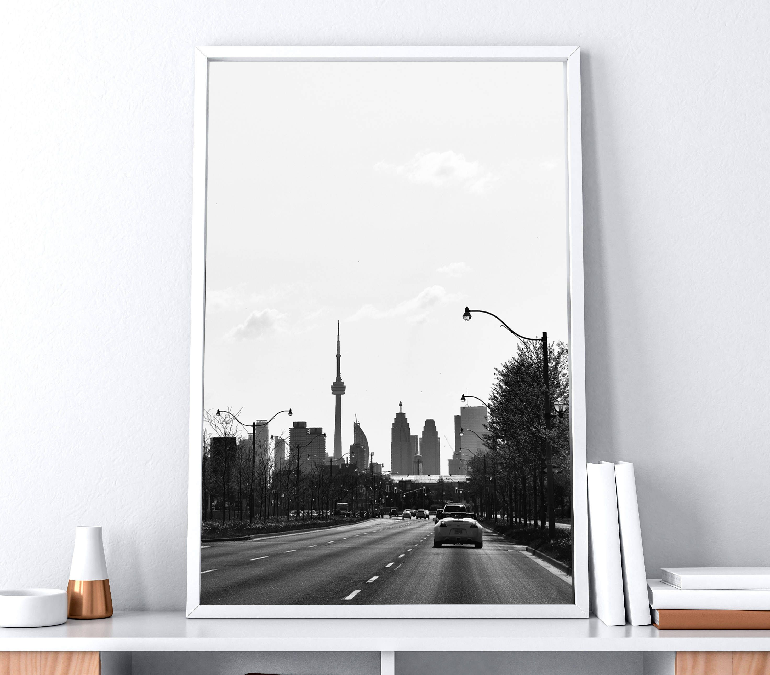 Toronto Photography, City Photography, Toronto wall art, CN tower ...