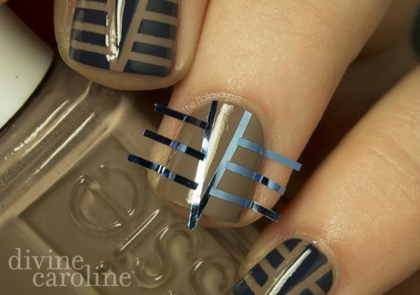 Art Deco Nail Art Design Pinterest