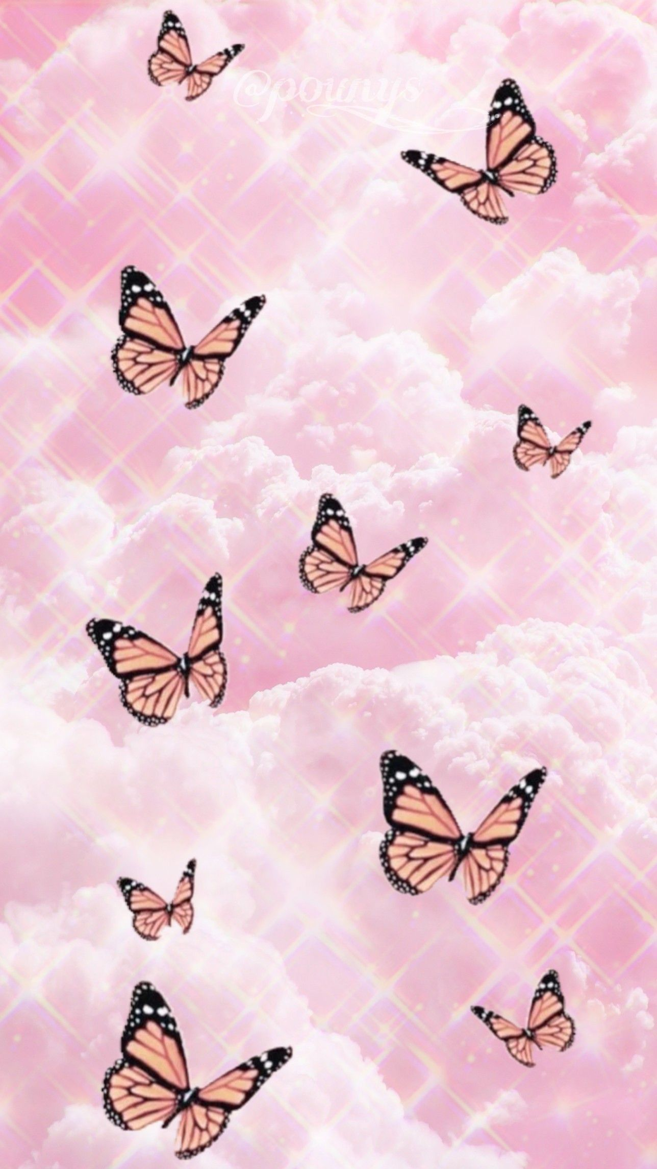 Butterfly Pink In 2020 Pink Wallpaper Backgrounds Butterfly Wallpaper Iphone Iphone Wallpaper Tumblr Aesthetic