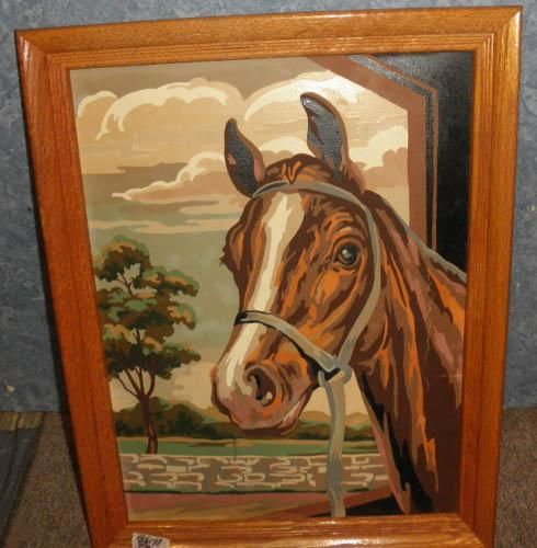 Framed Horse Picture B5177 | Horse pictures, Garage sale app and ...