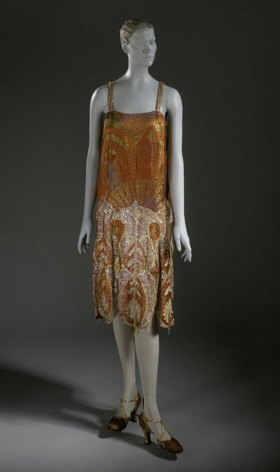 Evening Dress, Callot Soeurs, 1925, The Los Angeles County Museum of Art