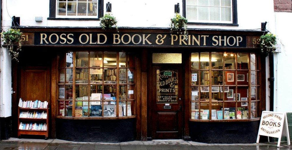Ross Old Book Shop Ross On Wye Bookshop Old Books Bookstore