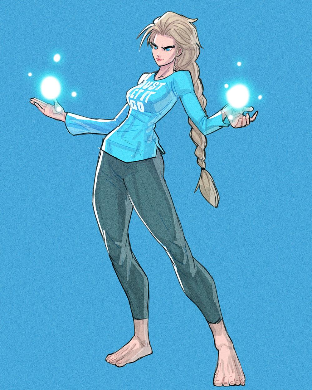 ArtStation Fighting Game Elsa , Dave CaveDraws